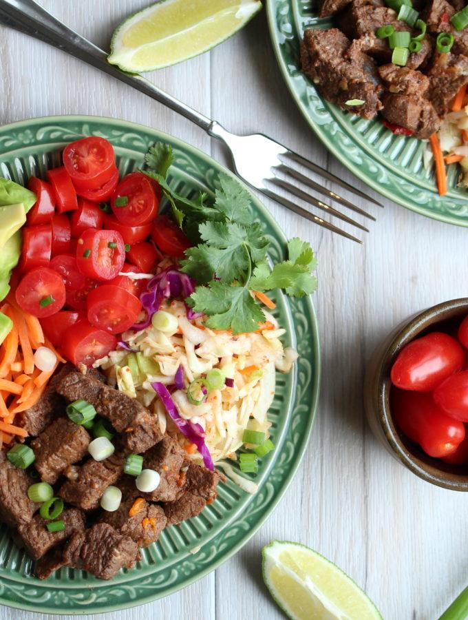 Mexican Beef Taco Salad