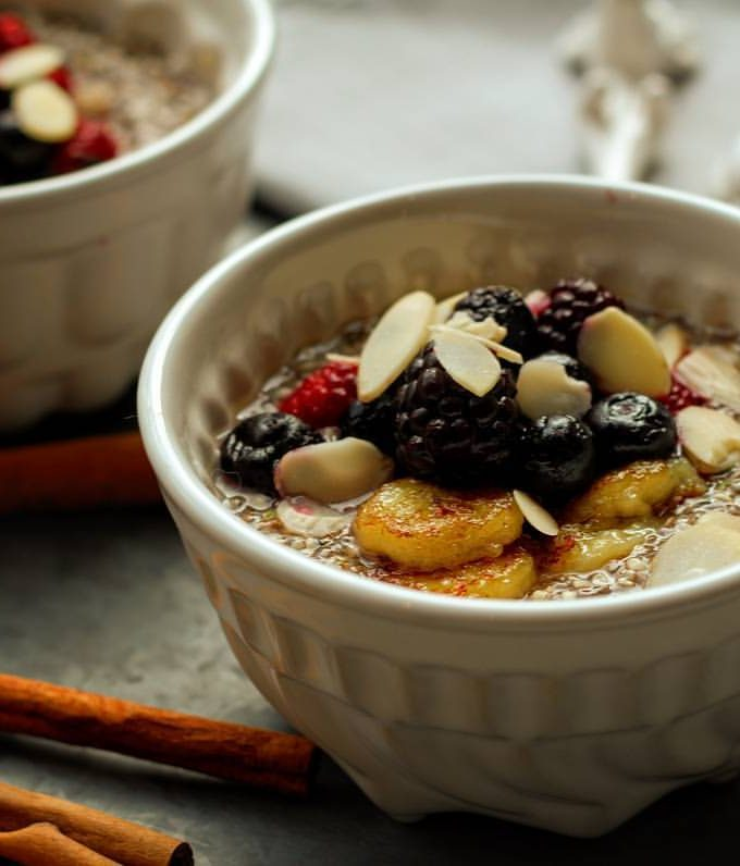 Chia Seed and Hemp Heart Cereal