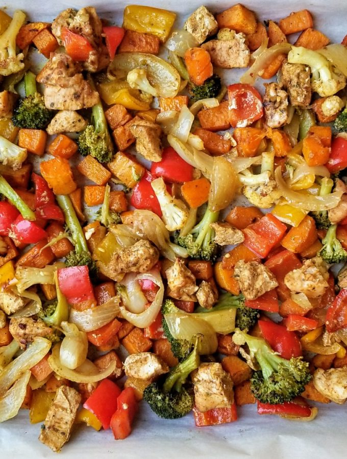 Roasted Curry Vegetables