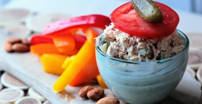 Tuna and Avocado Salad Stacks (Dairy Free, Gluten Free)